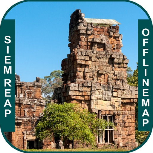 Siem Reap_Cambodia Offline maps & Navigation