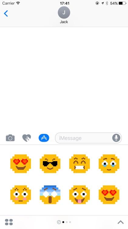 Super Pixel Emoji