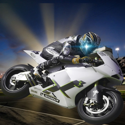 A Motorcycle Race Rivals Deluxe - Addictive High Speed