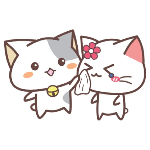 Cute Kitty Sticker for iMessage #1