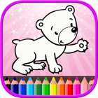 Animal Coloring Book For Kids - Free Games icon
