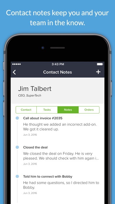 Infusionsoft Mobile