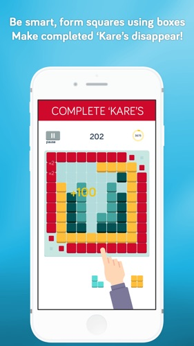 Kare Shapes Match - Puzzle Game Screenshot