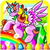 Pony Coloring Game For My Girl and Little Kids