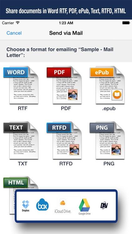 Textilus Pro Word Processor screenshot-4