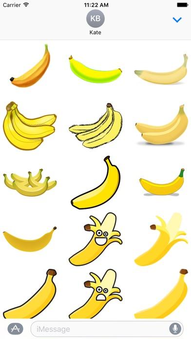 Banana Stickers屏幕截圖1
