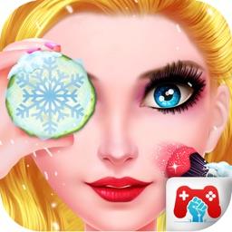 Christmas Girl Salon Makeover