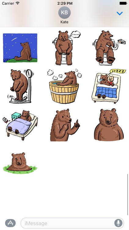 Dummy Bears Sticker Pack screenshot-3