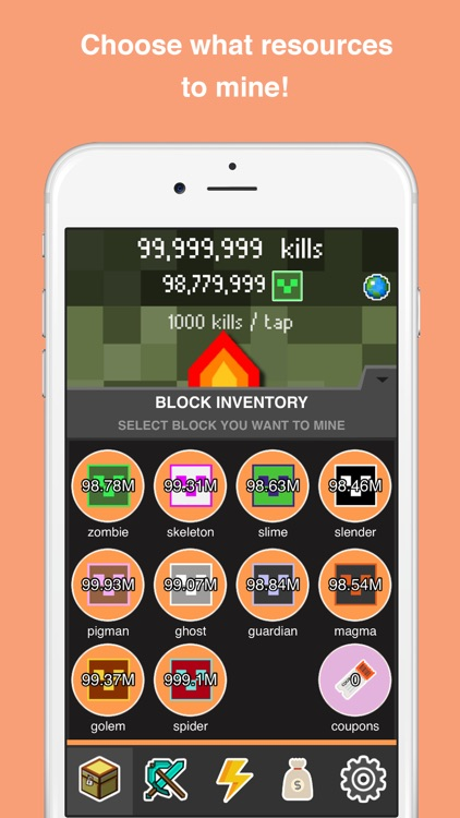 Clickcraft - Pickaxe Block Mining Clicker Game