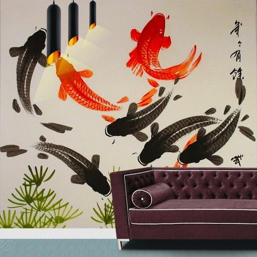 Japanese Wall Paintings Bonsai Art Wall Designs By Danny Wheeler