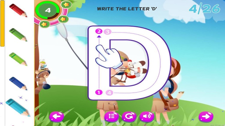 ABC Tracing Handwriting Learn to Write Letters screenshot-4