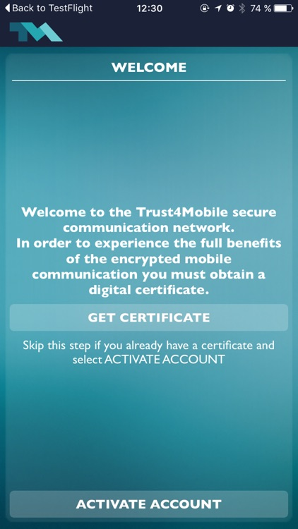 Trust4Mobile screenshot-3