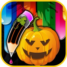 Helloween Drawing Pad For Toddlers