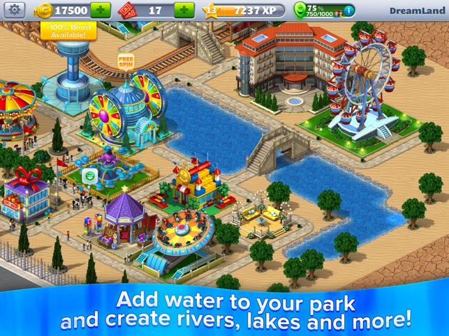 ‎RollerCoaster Tycoon® 4Mobile™ Screenshot