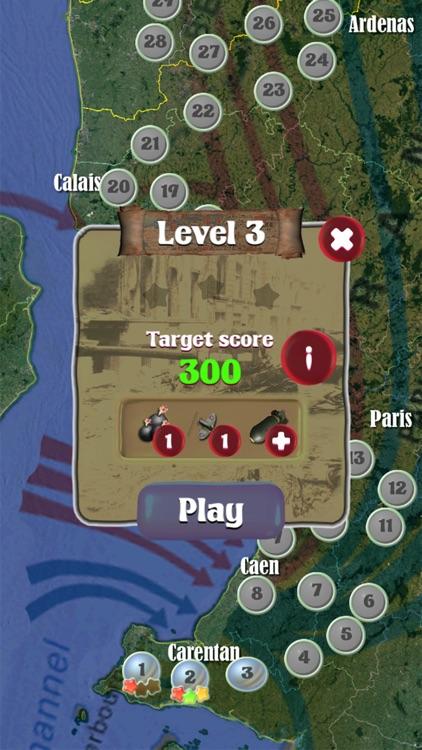 World War II - Tanks Match Three screenshot-4
