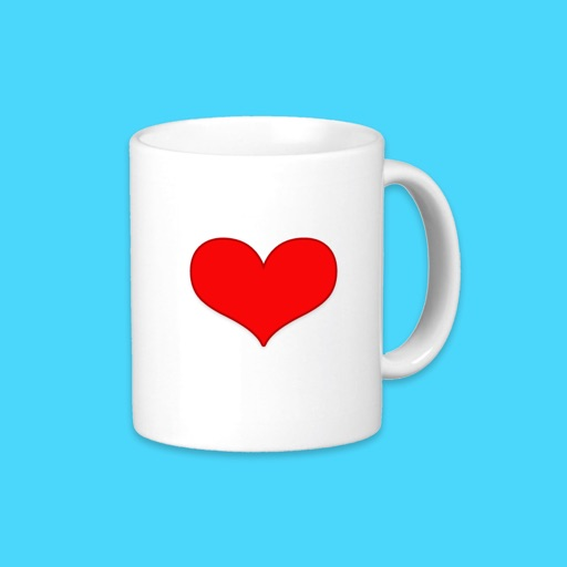 Coffee Cup Words of Wisdom Stickers icon
