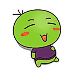 Funny Green Peas