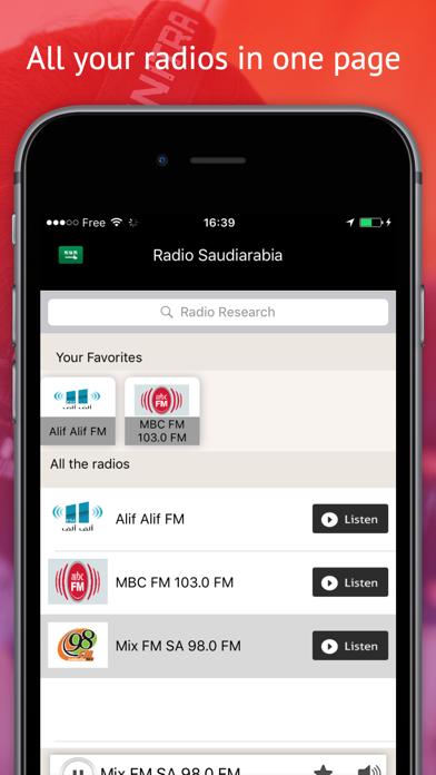 Radio Saudi Arabia - Radios SAR FREEلقطة شاشة3