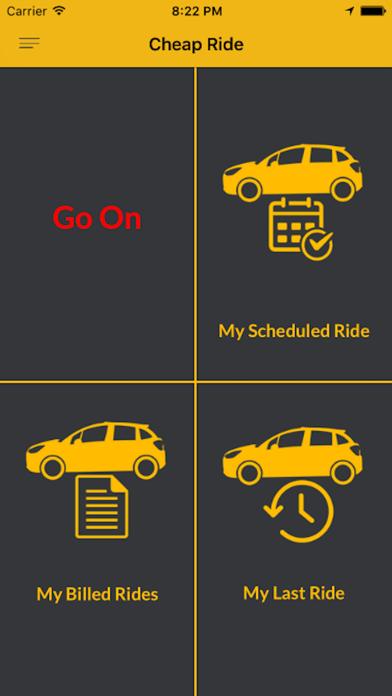 Cheap Rides's Driver App screenshot three