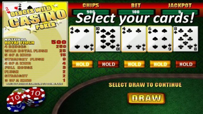 Deuces Wild Casino Poker screenshot two