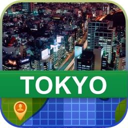 Offline Tokyo, Japan Map - World Offline Maps