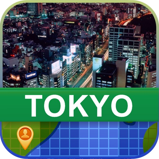 Offline Tokyo, Japan Map - World Offline Maps icon