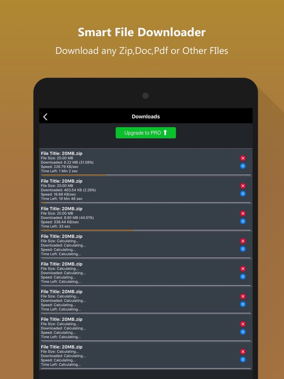 Secure Private Browser - File Organizer & Manager   App