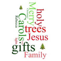 Christmas WordCloud Maker Free