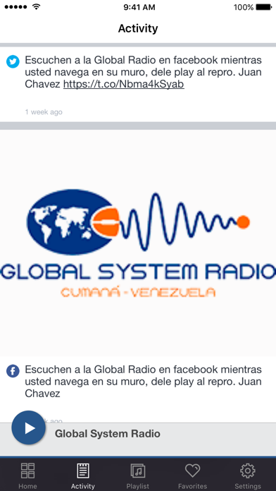 Global System Radio screenshot four