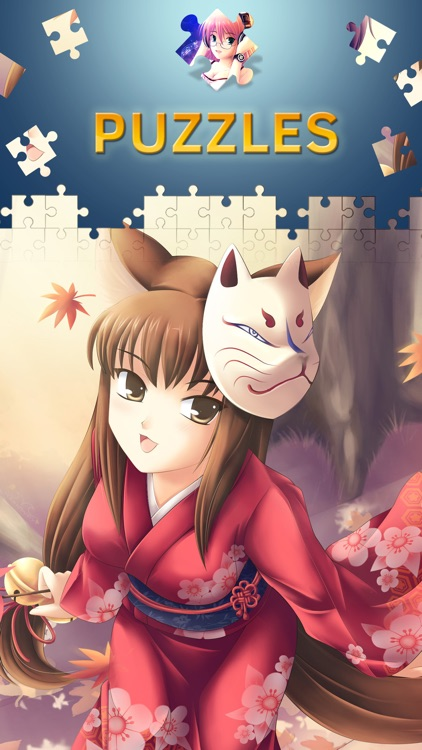 Anime Jigsaw Puzzles for Adults. Premium