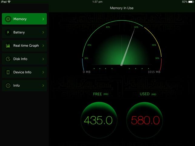 System Activity Monitor - Battery, Free Memory Screenshot