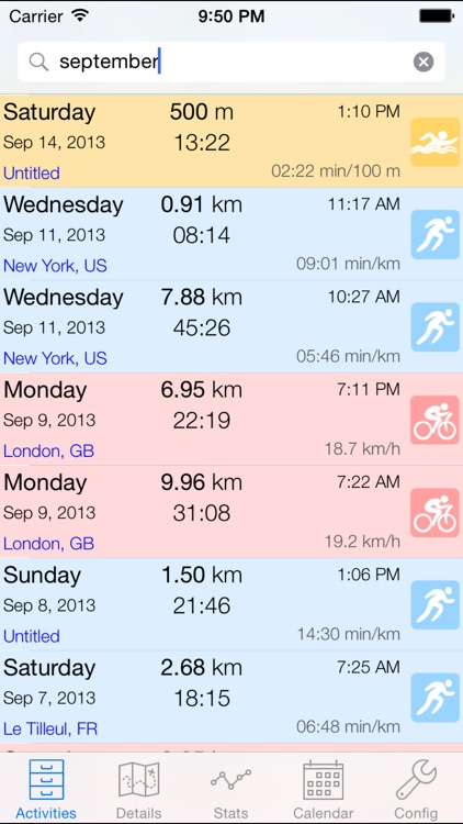 ConnectStats - Stats for Garmin Connect and Strava screenshot-0
