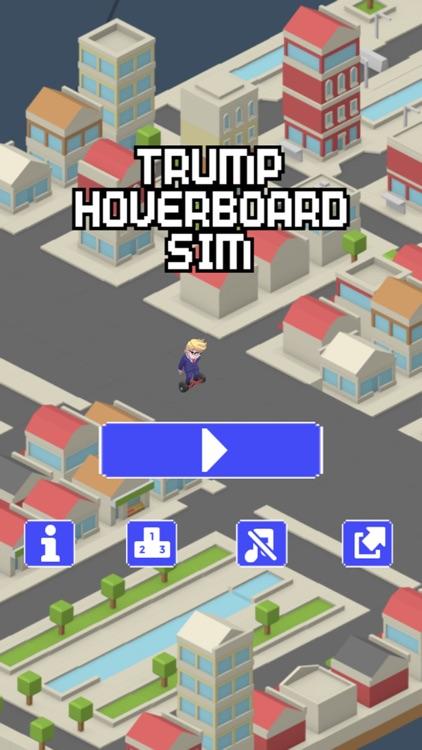 Trump Hoverboard Sim - Mannequin Race Challenge