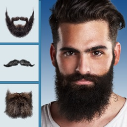 Beard Me Photo Booth - Barbershop Game