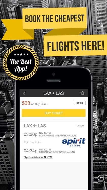 aero - Lowest Fares & Cheapest Flight Booking App screenshot-3