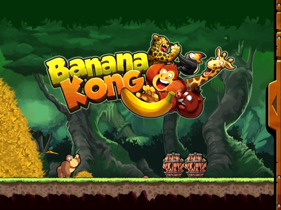 Banana Kong iPad