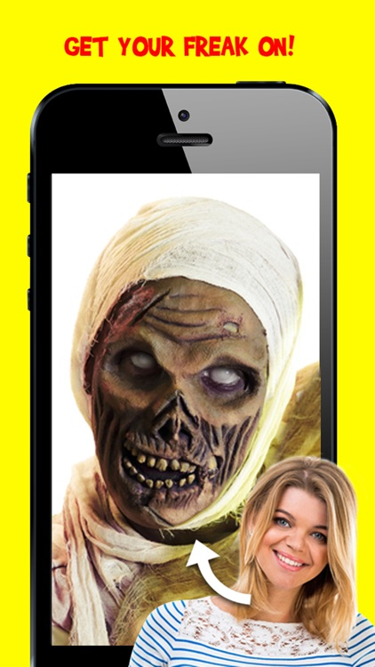 Corpse Cam PRO : Zombie Mask Editor Booth screenshot-3