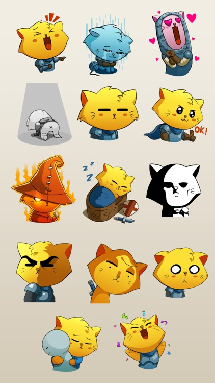 Cat Quest Stickers