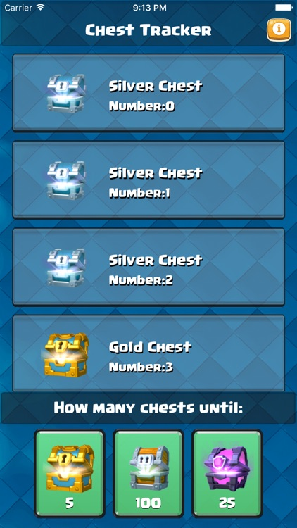 Chest Tracker for Clash Royale - Chest Circle