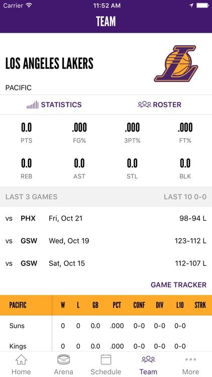 LA Lakers Official App screenshot-3