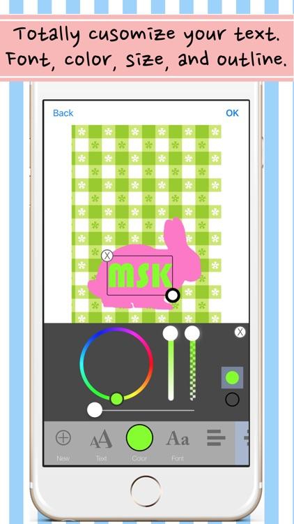 Monogram Wallpaper and Background App screenshot-4