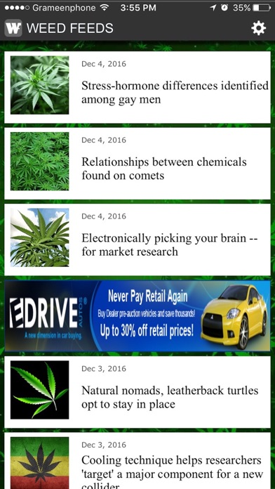 Weed Feeds screenshot three