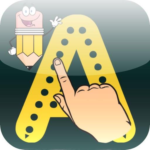 ABC Books Writing Wizard - Dotted Alphabet iOS App