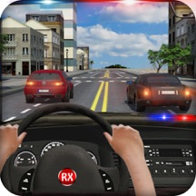 City Police Car Driving Simulator - Chase, Hunt & Arrest Bandits with Extreme Drift Speed Action Smasher Racing Simulator