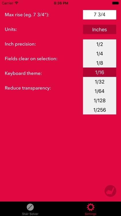 Stair Help – Staircase Riser + Stringer Calculator screenshot-4