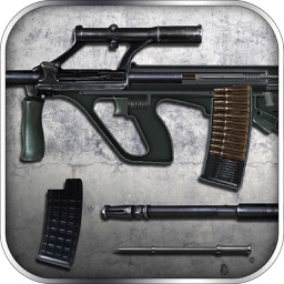 AUG Assault Rifle: Assembly and Gunfire - Firearms Simulator with Mini Shooting Game for Free by ROFLPlay