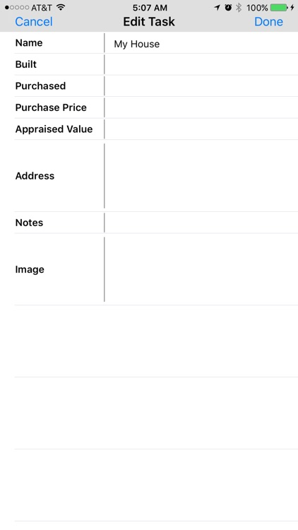 Home Maintenance Log screenshot-4