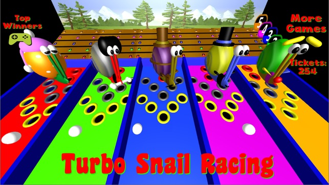 Turbo Snail Racing on the App Store