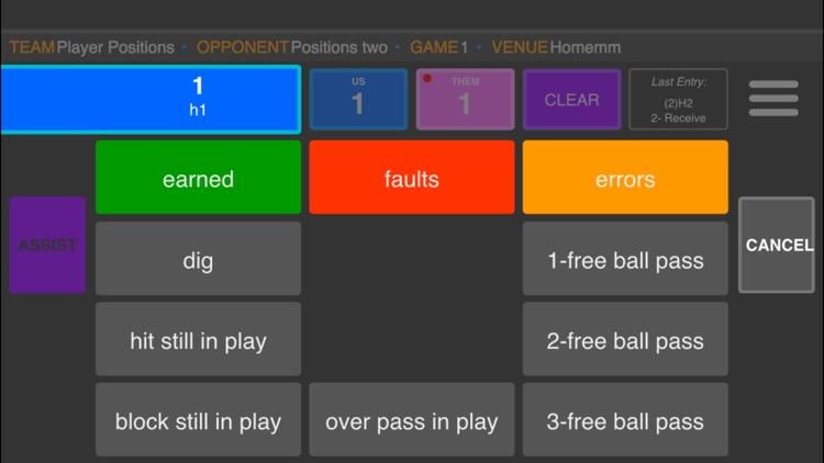 SoloStats Live Volleyball screenshot-2