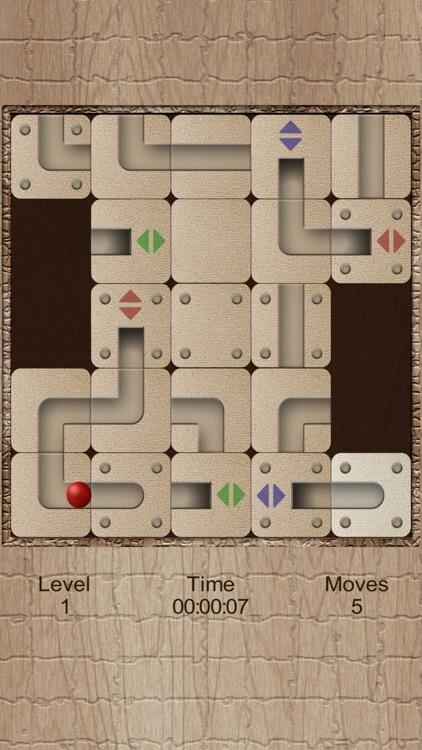 Roll the labyrinth tunnel ball screenshot-3